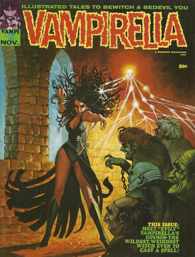Cover for Vampirella (Warren, 1969 series) #2