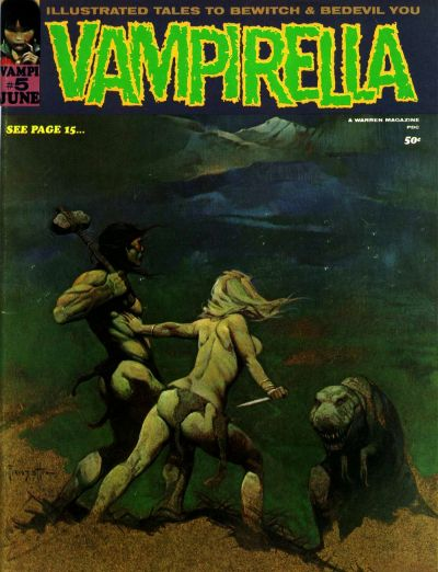 Cover for Vampirella (Warren, 1969 series) #5