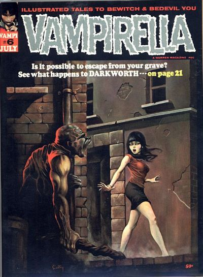 Cover for Vampirella (Warren, 1969 series) #6