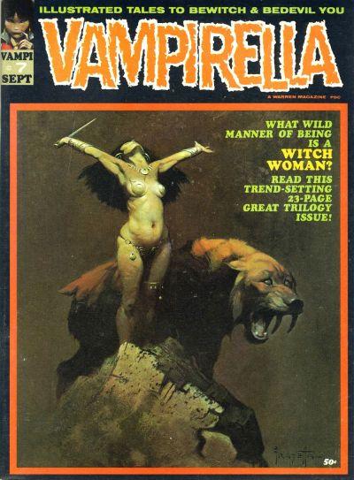 Cover for Vampirella (Warren, 1969 series) #7