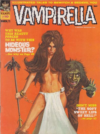 Cover for Vampirella (Warren, 1969 series) #10