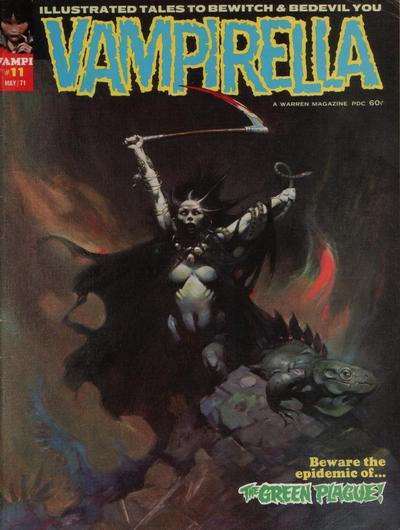 Cover for Vampirella (Warren, 1969 series) #11