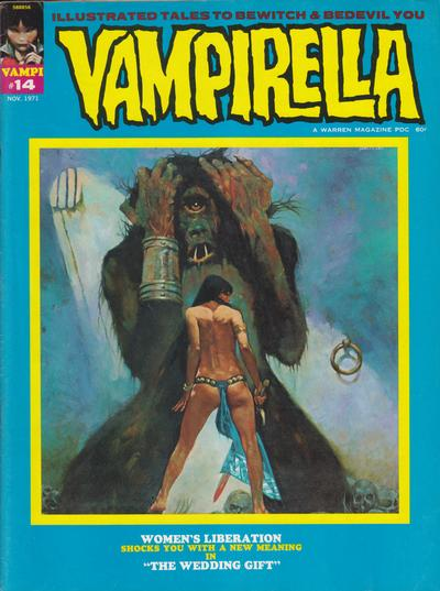 Cover for Vampirella (Warren, 1969 series) #14