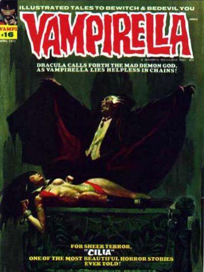 Cover for Vampirella (Warren, 1969 series) #16