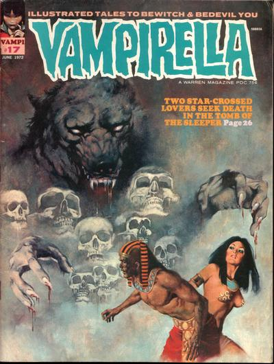 Cover for Vampirella (Warren, 1969 series) #17