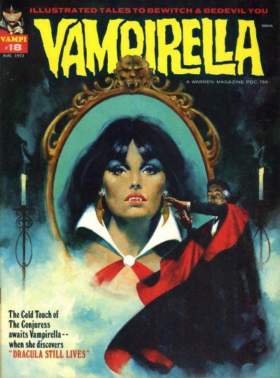 Cover for Vampirella (Warren, 1969 series) #18
