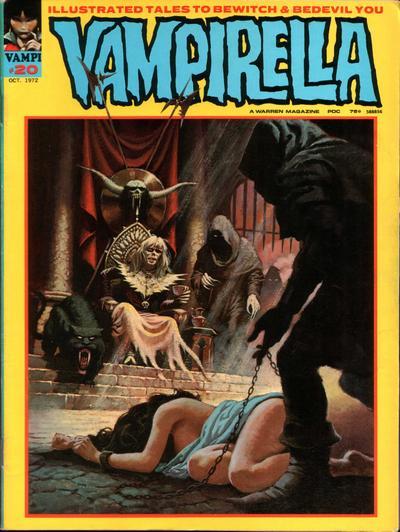 Cover for Vampirella (Warren, 1969 series) #20