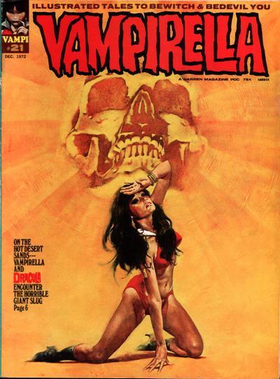 Cover for Vampirella (Warren, 1969 series) #21