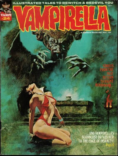 Cover for Vampirella (Warren, 1969 series) #24