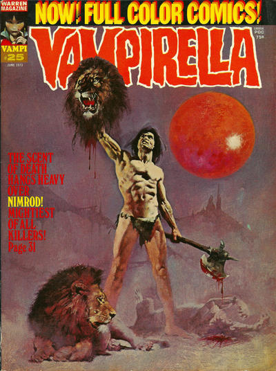 Cover for Vampirella (Warren, 1969 series) #25