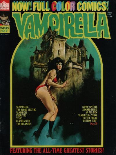 Cover for Vampirella (Warren, 1969 series) #27