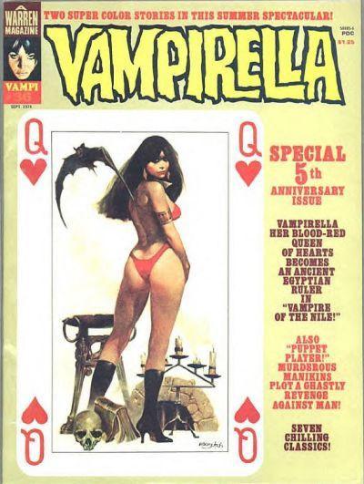 Cover for Vampirella (Warren, 1969 series) #36