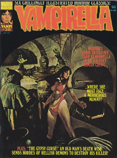 Cover for Vampirella (Warren, 1969 series) #38