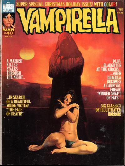 Cover for Vampirella (Warren, 1969 series) #40