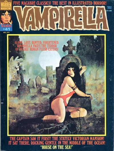 Cover for Vampirella (Warren, 1969 series) #41