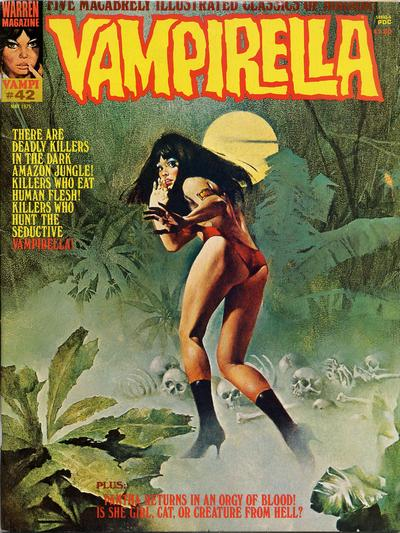 Cover for Vampirella (Warren, 1969 series) #42