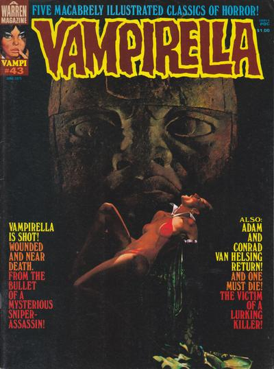 Cover for Vampirella (Warren, 1969 series) #43