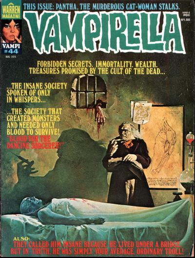 Cover for Vampirella (Warren, 1969 series) #44