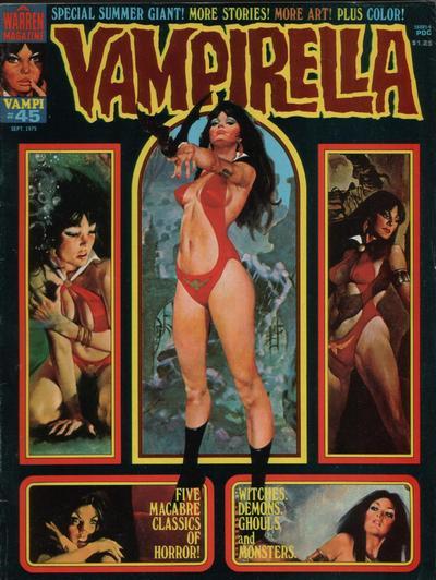 Cover for Vampirella (Warren, 1969 series) #45