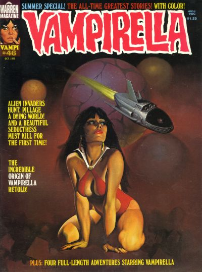 Cover for Vampirella (Warren, 1969 series) #46