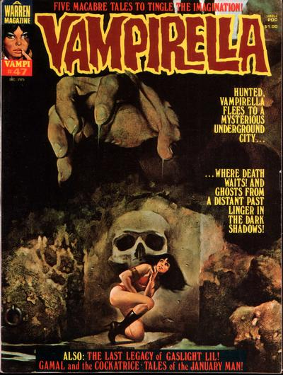 Cover for Vampirella (Warren, 1969 series) #47
