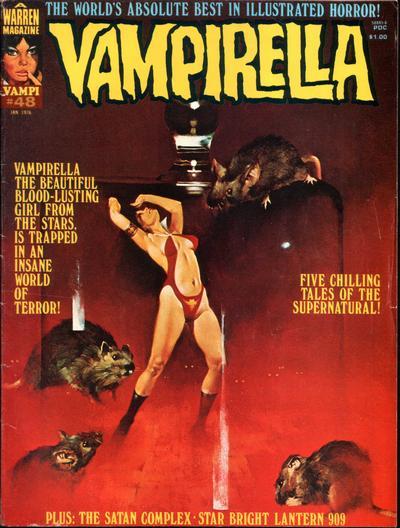 Cover for Vampirella (Warren, 1969 series) #48