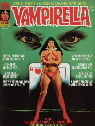 Cover for Vampirella (Warren, 1969 series) #49