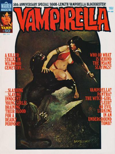 Cover for Vampirella (Warren, 1969 series) #50