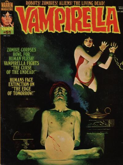 Cover for Vampirella (Warren, 1969 series) #51