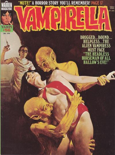 Cover for Vampirella (Warren, 1969 series) #56