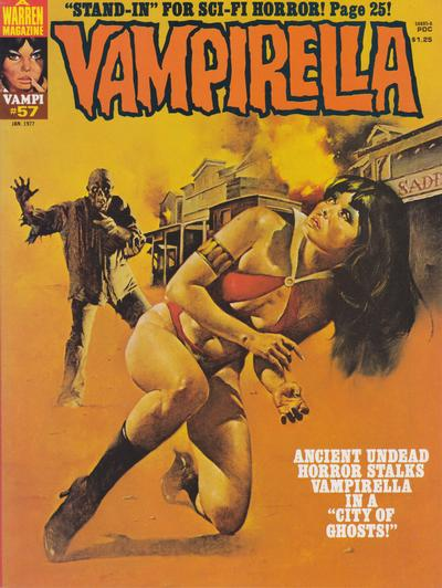 Cover for Vampirella (Warren, 1969 series) #57