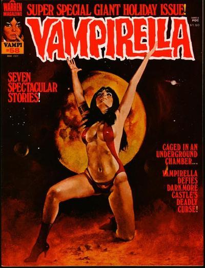 Cover for Vampirella (Warren, 1969 series) #58
