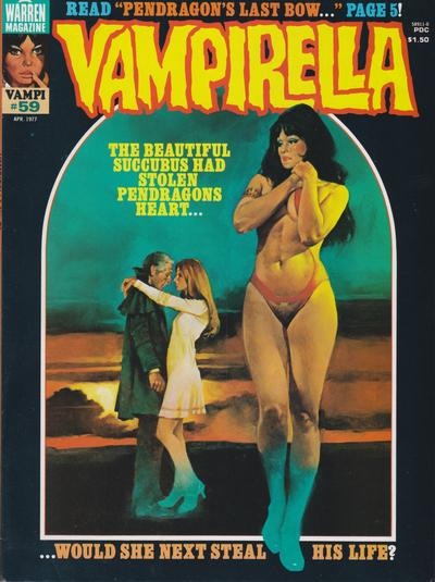 Cover for Vampirella (Warren, 1969 series) #59