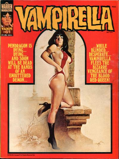 Cover for Vampirella (Warren, 1969 series) #61