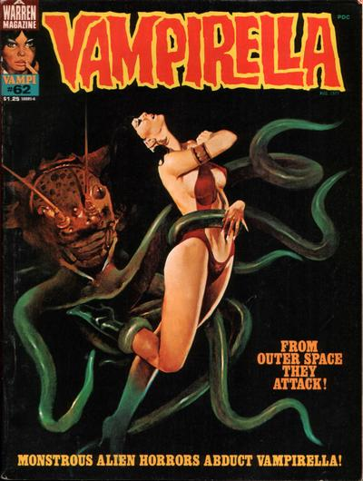Cover for Vampirella (Warren, 1969 series) #62
