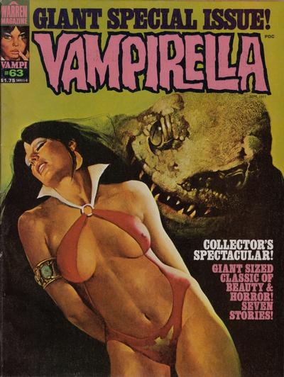 Cover for Vampirella (Warren, 1969 series) #63