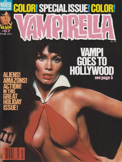 Cover for Vampirella (Warren, 1969 series) #67