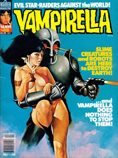 Cover for Vampirella (Warren, 1969 series) #68