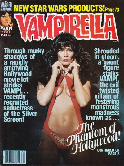Cover for Vampirella (Warren, 1969 series) #69