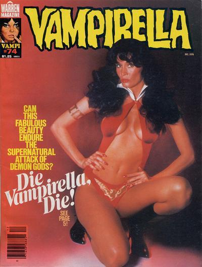 Cover for Vampirella (Warren, 1969 series) #74