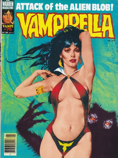 Cover for Vampirella (Warren, 1969 series) #75
