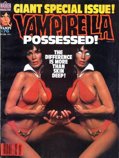 Cover for Vampirella (Warren, 1969 series) #76