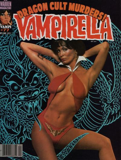 Cover for Vampirella (Warren, 1969 series) #77