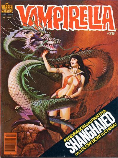 Cover for Vampirella (Warren, 1969 series) #79