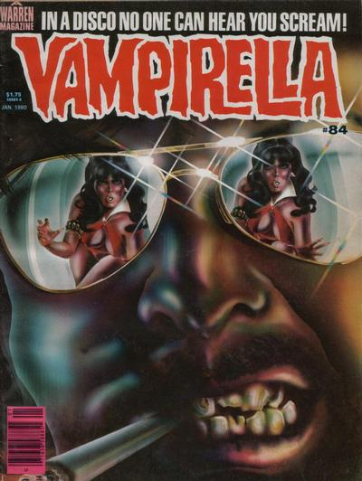 Cover for Vampirella (Warren, 1969 series) #84