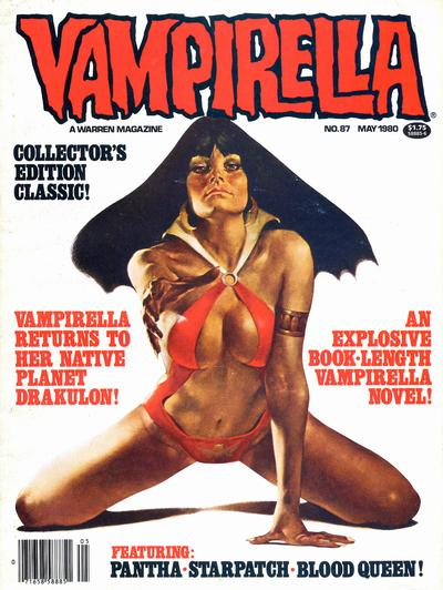 Cover for Vampirella (Warren, 1969 series) #87