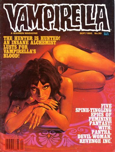 Cover for Vampirella (Warren, 1969 series) #90