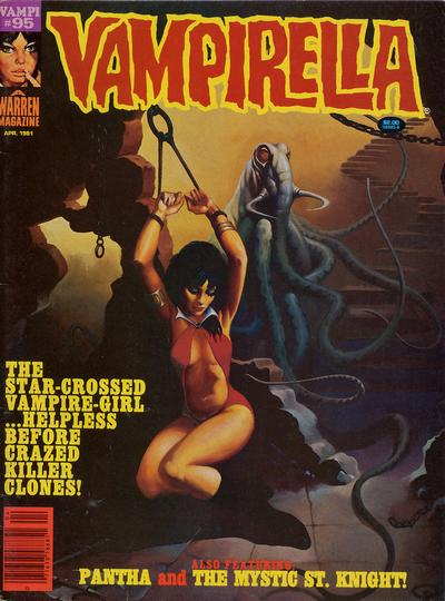 Cover for Vampirella (Warren, 1969 series) #95