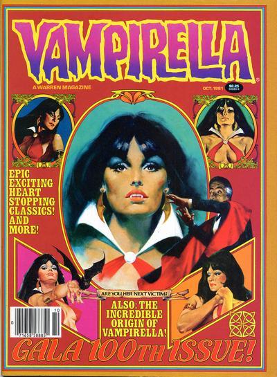 Cover for Vampirella (Warren, 1969 series) #100