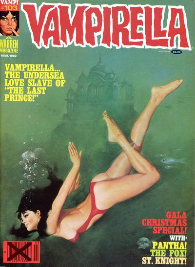 Cover for Vampirella (Warren, 1969 series) #103